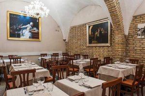 taverna del ghetto ristoranti kosher roma