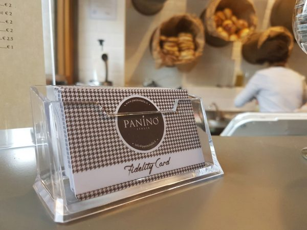 panino italia card