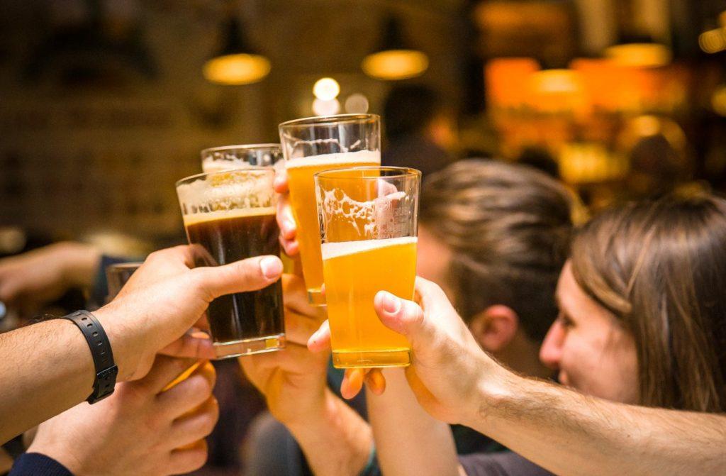 una marea di birra