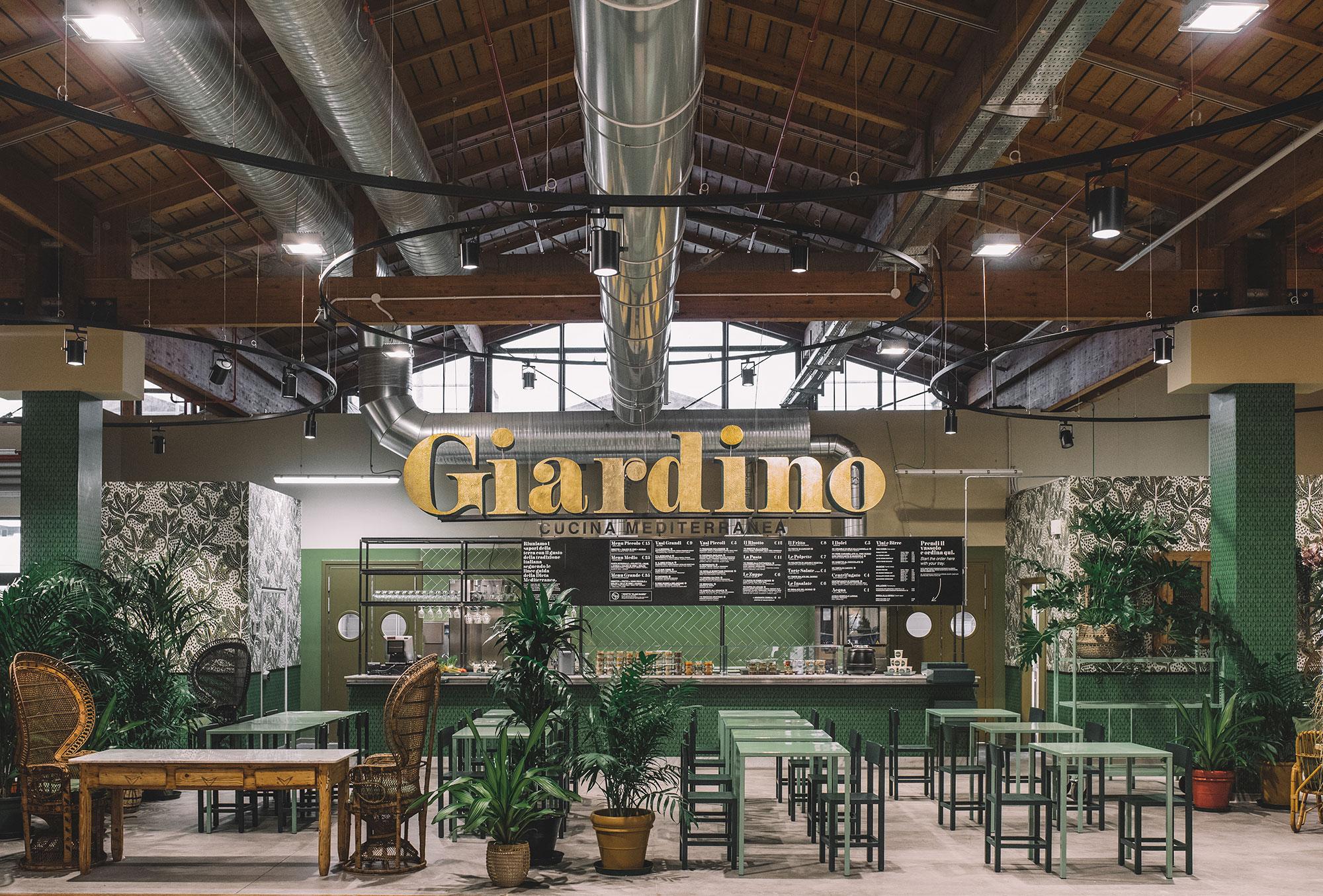 Giardino il ristorante vegetariano di fico a bologna mangiaebevi - Ristoranti con giardino roma ...
