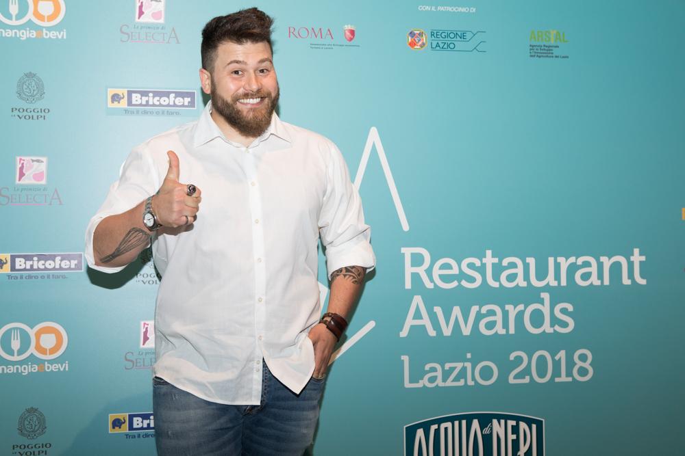 premio restaurant awards lazio 2018