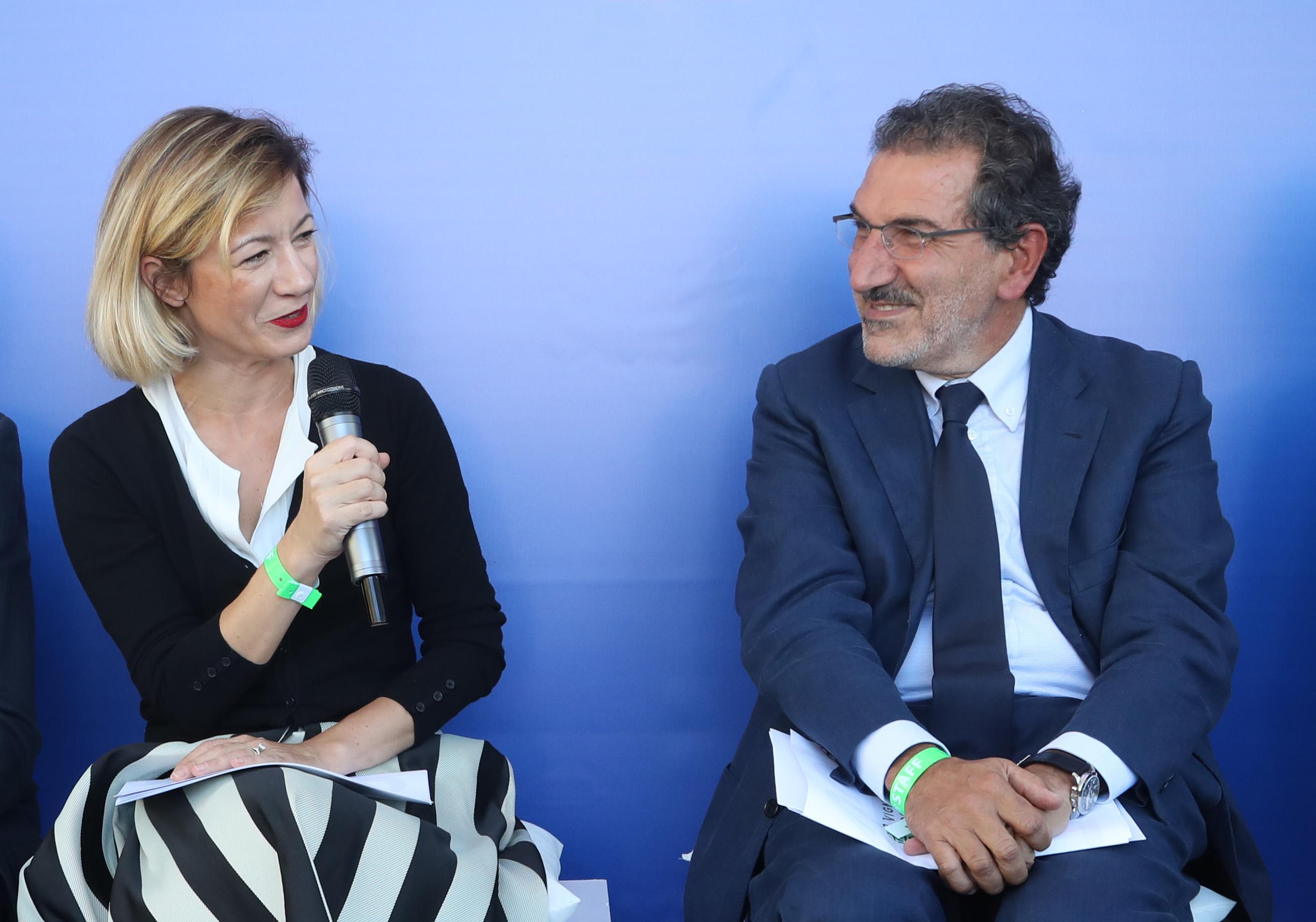 Marta Cotarella e Antonio Rosati