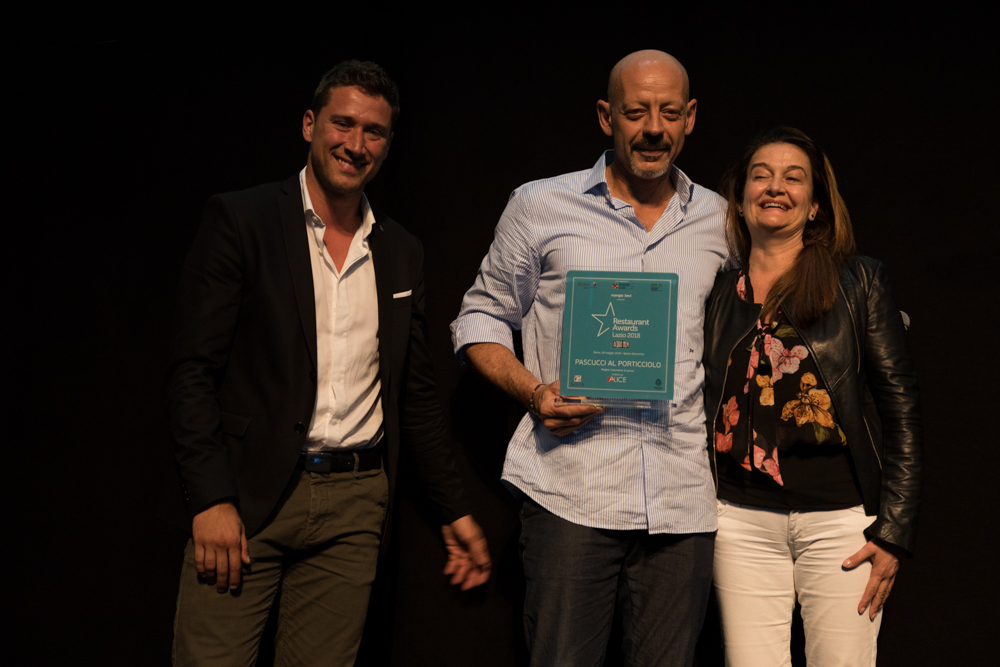 restaurant awards lazio 2018