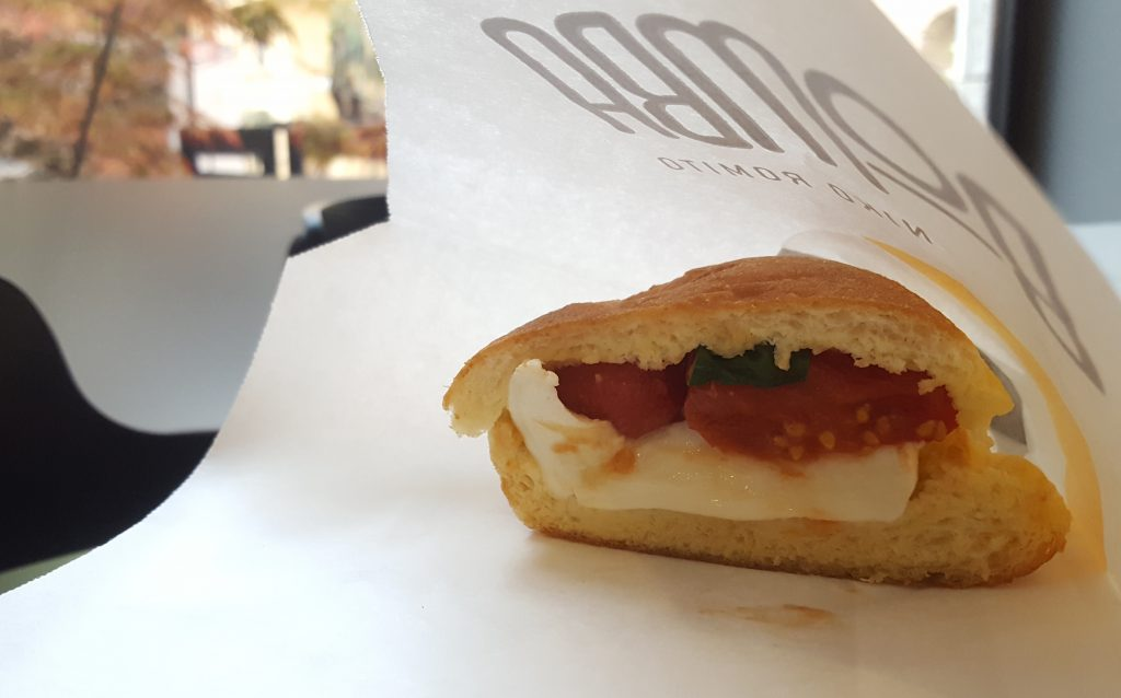 bomba niko romito spazio pane e caffè roma