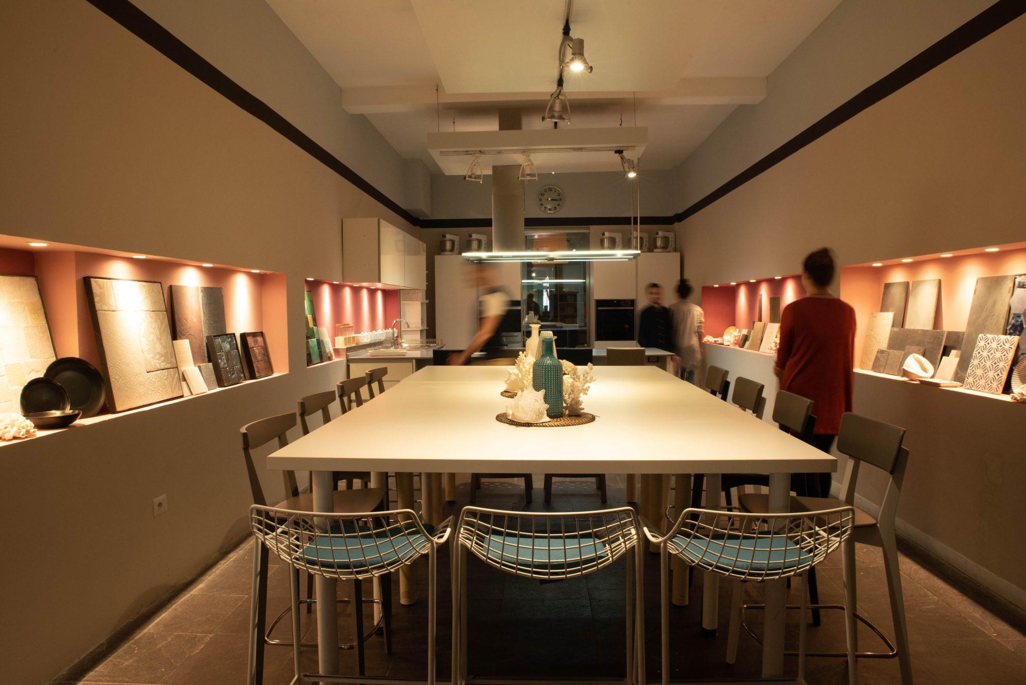 isola open kitchen