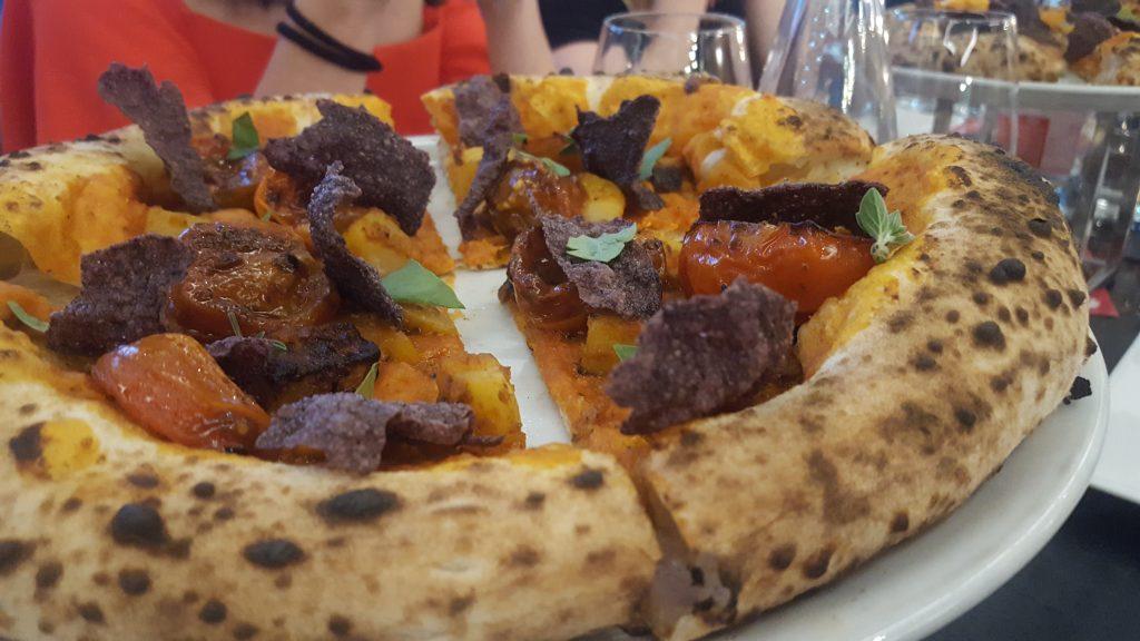 pizza e falanghina