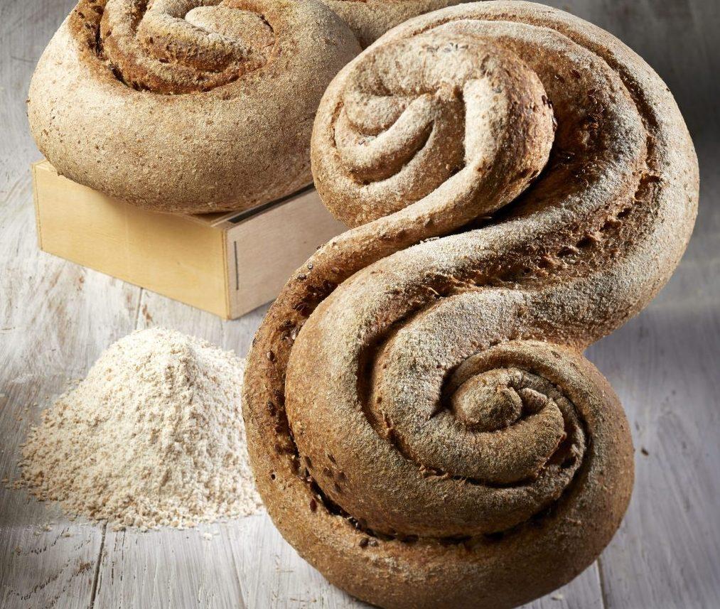 pane con grano intero