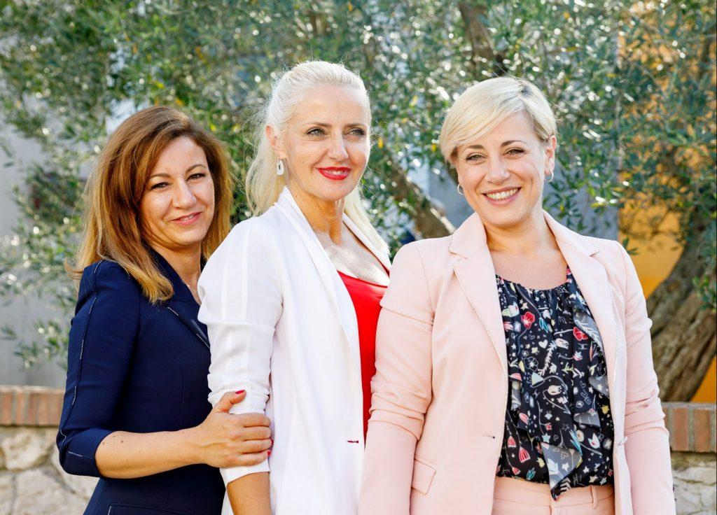 Marta, Dominga ed Enrica Cotarella