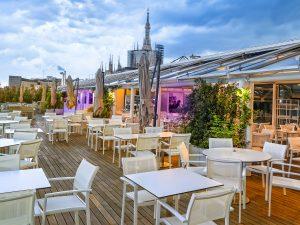 Acquolina a Taste on Top.  A Milano cucina stellata in terrazza