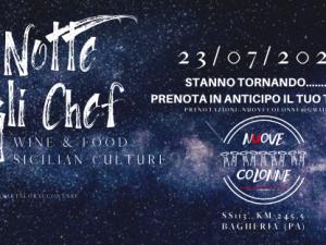 La Notte degli Chef torna a Bagheria con una serata all'insegna del Made In Sicily