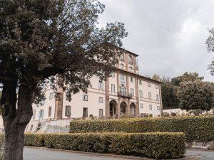 In Villa a Frascati: cucina di mare con vista in una residenza d'epoca