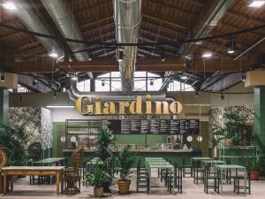 Giardino, il ristorante vegetariano di Fico a Bologna