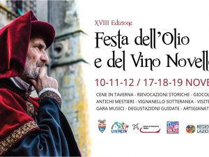 XVIII Festa dell'Olio e del Vino Novello a Vignanello