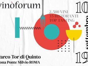 Vinòforum 2021: a Roma torna il festival dell'enogastronomia