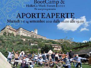 Assisi: al via il Bootcamp&Horeca Work Forum 2021