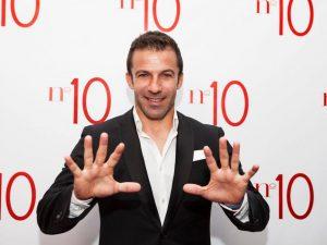 Milano. Alessandro Del Piero apre N. 10 Experience in Porta Nuova