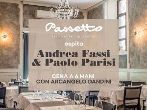 Roma: cena a 6 mani da Passetto con Dandini, Parisi e Fassi
