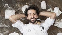 Tre Cristi Milano: pronta la prima collezione di piatti-scultura di chef Aliberti