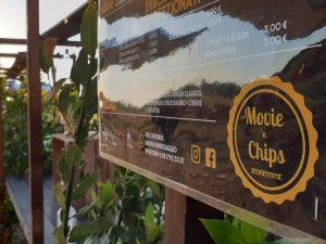 Movie'n Chips: cinema drive in e buona cucina a Ostia