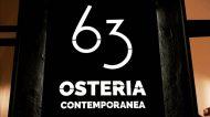 63 Osteria Contemporanea: a Lecce la nuova meta del gusto, anche delivery e take away