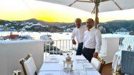 """Ponza e la nuova """"Acqua Pazza"""" di Gino Pesce: Tavoli nel blu, un B&B e un Bar nato sotto il segno dei Pesci"""