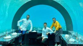 Andrea Berton inaugura H2O, il ristorante gourmet sotto il livello del mare