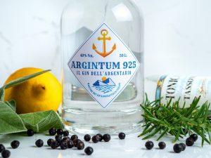 L'eco del mare in una bottiglia: Argintum 925, il primo gin dell'Argentario