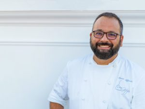 Mario Affinita, chef open mind a Sorrento