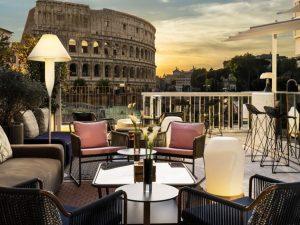 The Court: a Palazzo Manfredi cocktail e piatti gourmet vista Colosseo