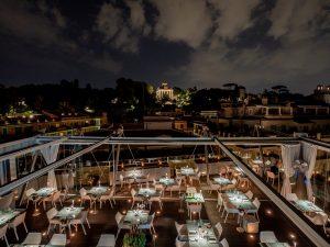 Hi-Res: l'alta cucina di mare sul rooftop dell'Hotel Valadier