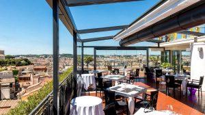 Cocktail, Musica e cene tematiche sulle terrazze del Sina Bernini Bristol a Roma