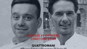 Michelin Friends: cena a 4 mani con Giuseppe di Iorio e Alfonso Crisci