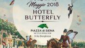 L'Hotel Butterfly arriva a Piazza di Siena tra cavalli, musica, alta cucina e mixology