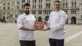 Matteo Metullio e Davide De Pra, gli chef dell'Harry's Piccolo di Trieste
