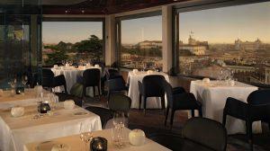 Menu stellato e vini di Ca'del Bosco sul rooftop dell'Hotel Eden a Roma