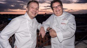 Topolino Vintage e L'onda Circolare del Mare. Ecco i piatti della prima tappa del Sina Chefs' Cup Contest