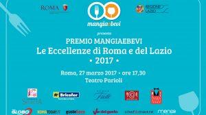 Premio MangiaeBevi – Le Eccellenze di Roma: tutte le nomination