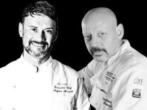 Marzetti e Pascucci, due chef e un menu dal sapore di mare con vista su Roma