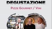 Pizze gourmet e vini: cena a 4 mani e un bicchiere da Apollinare