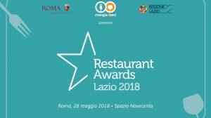 Restaurant Awards Lazio 2018: ecco tutte le nomination