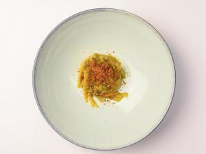 Albereta: il menu d'autunno dello chef Fabio Abbattista al Leone Felice Vista Lago