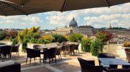 Terrazza Les Etoiles: dalla colazione al dopo cena sotto il cielo di Roma