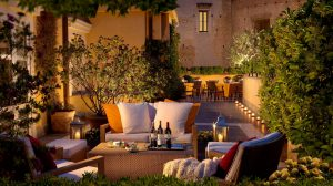 Attico Bistrot: nuovo menu sul roof dell'Hotel Capo d'Africa