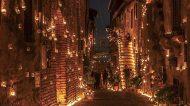 Una cena a 10mila lumi di candele