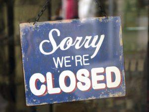 Bollettino chiusure: le grandi perdite della ristorazione del 2020