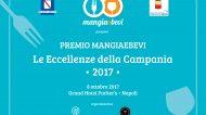 Premio MangiaeBevi 2017: tutte le nomination dell'edizione campana in programma al Grand Hotel Parker's l'8 ottobre