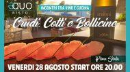 Crudi, Cotti e Bollicine: mangia, bevi, impara e brinda alla stagione degli eventi di Equo Risto a Fiumicino