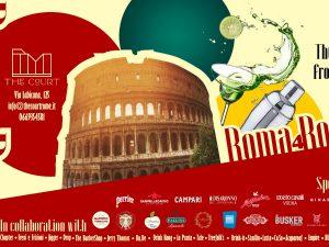 Roma 4 Roma: i bartender capitolini insieme a colpi di shaker