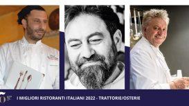 50 Top Italy 2022: ecco quali sono le trattorie migliori d'Italia