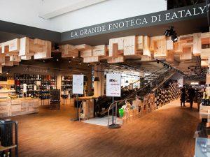 Roma: da Eataly arriva la nuova Enoteca